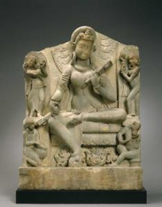 Indian Sarasvati, 6th century MFAH