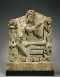 Indian Sarasvati, 6th century MFAH